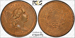 1794 Half Cent PCGS MS 67 Missouri .png